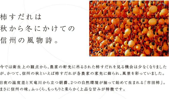 市田柿・干し柿
