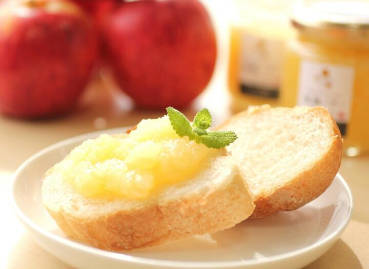 長野・信州産りんごをたっぷり使った 林檎バター(りんごバター)