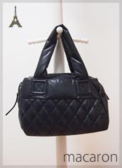 ナイロントートバッグ、軽量トート、キルティングバッグ、かわいいバッグ