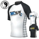 T&C tea and sea surf design men rush guard TRG-34100