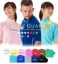 Mens and Womens rash guard short sleeve type IslandBeach for adults (unisex) of domestic production RashGuard ☆ injury and sunburn prevention is great!