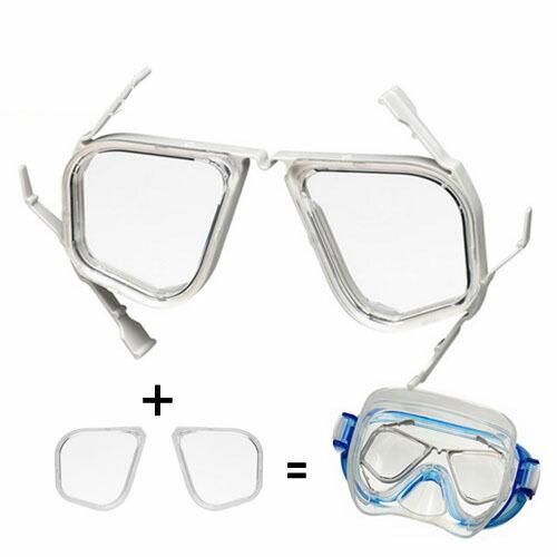 ReefTourer リーフツアラー 水中マスク用度付きセット ra0509スノーケリング/シュノーケリング/ダイビング