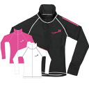 ReefTourer Leafs healer ladies rush jacket ZIP zipper ra5104 rash guard rash guard long sleeve / rash guard women / rash guard ladies long sleeve/UV cut and UV prevention and