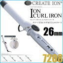 Create Ion Ion Curl Iron 26mm 7208≪Curl Iron≫『4988338220177』