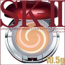 "Max factor SK2 ステムパワー cream compact Foundation 420 クリアベージュ 10.5 g SPF20/PA++ «refill puff with emulsion type» ""4979006056624"""