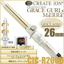 Create Ion Grace Curl Merry 32mm CIC-R32GU≪Curl Iron≫『4988338221532』