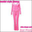 Vartex Model Style Slim Shape Suit Hot Pink≪Diet Wear≫