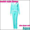 Vartex Model Style Slim Shape Suit Aqua≪Diet Wear≫