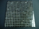 Mosaic tiles natural marble cube black shine 1 piece 30 cm square back net paste pieces 1.5 cm mosaic stone