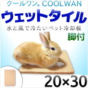 Cool one wet tile-20 × 30 with legs-til cold water only at pet cooling mat heat on weak rabbits for this cool do feeling becomes addictive! engagement this summer heat against intense heat is! Rabbit heatstroke? s patent registration products.
