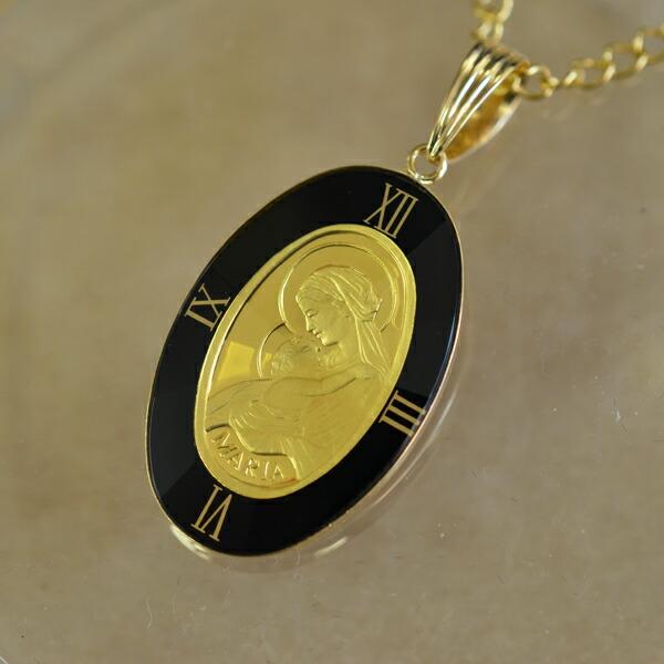 オーバルマリア金貨ネックレス商品ページへ