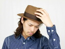 JOHN LOFGREN & CO. ジョンロフグレン THE CHAPMAN HAT (CAMEL) wool felt hat [easy ギフ _ packing]
