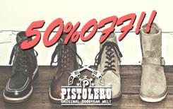 PISTOLERO 50%OFF
