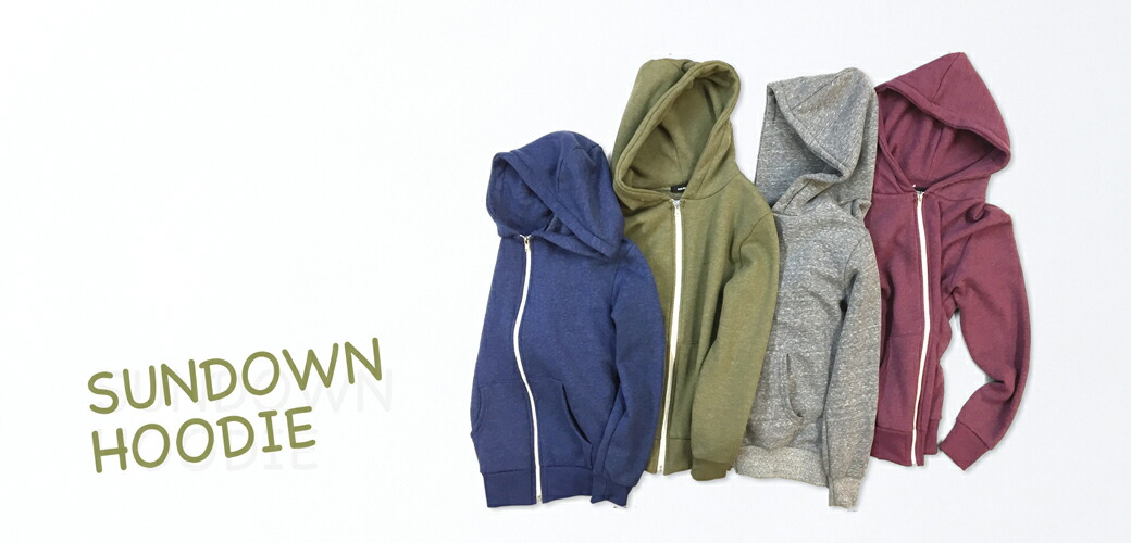 【CAL.Berries】SUNDOWN HOODIE