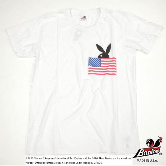 [Bantam] U.S BUNNY FLAG TEE
