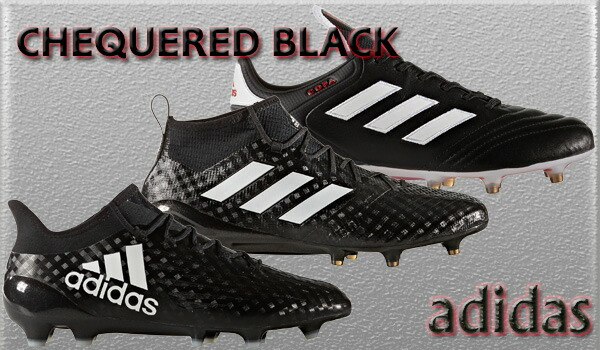 adidas CHEQUERED BLACK