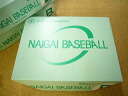 Shipping-cod free ナイガイゴム new official softball ball B of 1 dozen pieces