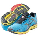 10 2013-2014 Mizuno (Mizuno) model women running shoes WAVE INSPIRE WIDE (10 wave inspire women Y gong strike) J1GD1446