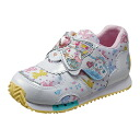 MoonStar (moon star) 2014NEW kids casual shoes jewel pet JWPT C25 white