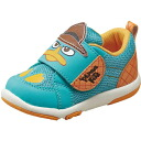 MoonStar (Moonstar) kids casual shoes Disney DN B1126 Green