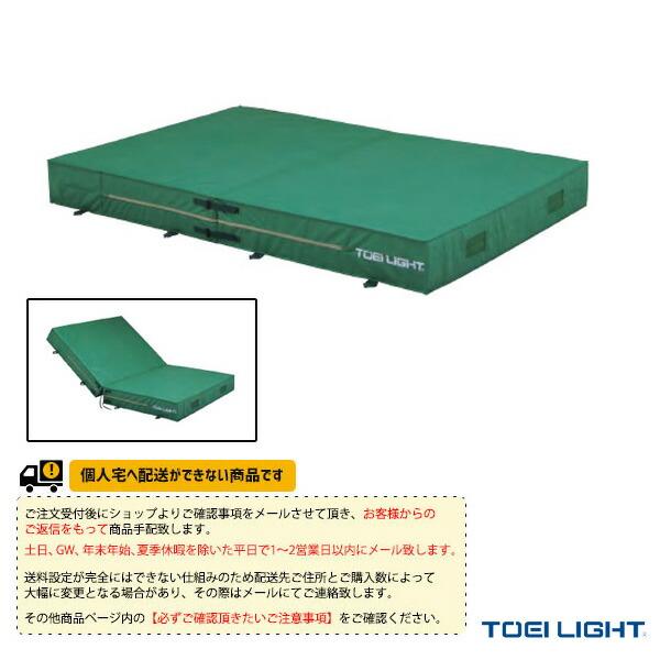 [送料お見積り]防水エステル帆布二つ折りエバーマット屋内外兼用/200×400×30cm(G-1548)