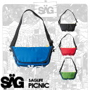 SAGLiFE PICNIC messenger bag shoulder bag kindergarten bag going to kindergarten bag kids child service 1303-060