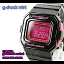 ★ ★ CASIO/G-SHOCK/G shock G-shock g-shock mini g-shock mini ladies watch GMN-550-1BJR/black/pink ladies
