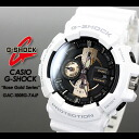 CASIO/G-SHOCK/g-shock g shock G shock G- shock [willow oak ogee shock] [Rose Gold Series] Rose gold series watch /GAC-100RG-7AJF/white [fs01gm]