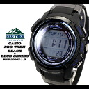 ★ ★ PRO TREK black × blue series mens men's watch / PRW-2000Y-1JF CASIO g-shock G shock Casio 6600