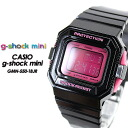 CASIO/G-SHOCK/G shock G- shock G- shock mini g-shock mini women GMN-550-1BJR/black/pink [attributive quality] Lady's [fs01gm]