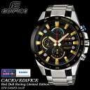 ★ ★ EDIFICE redburracinglimitededition mens men's watch / chronograph / EFR-540RB-1AJR CASIO g-shock G shock
