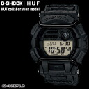 ★ domestic genuine ★ ★ ★ CASIO g-shock G-SHOCK×HUF collaboration model watch / GD-400HUF-1JR g-shock g shock G shock G-shock