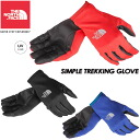 THE NORTH FACE SIMPLE TREKKING GLOVE NN86123 marathon / trail running / jogging