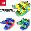 SALE20%OFF! THE NORTH FACE USAGI KODOMO ADVENTURE SANDAL sandals / child service NFJ75150