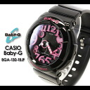CASIO/G-SHOCK/g-shock g shock G shock G-shock Baby-G baby G women watch [Neon Dial Series] (the neon dial series) BGA-130-1BJF Lady's watch [fs01gm]