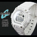 CASIO/G-SHOCK/g-shock g shock G shock G-shock Color Display Series/G-LIDE Baby-G baby G baby g women BLX-100-7JF/white X silver Lady's Watch [fs01gm]