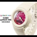 에서의 CASIO/G-SHOCK/g 충격 G 쇼크 G-쇼크 G-충격 미니 g-shock mini 여성용 시계 GMN-50-8B3JR/오프 화이트 × 핑크 여성용