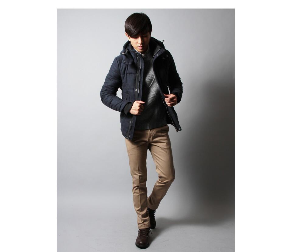 ○30代メンズにおすすめの2016冬デートコーデ「ジャケット」 201630代のメンズにはネイビーのジャケットが流行の兆し!  ダウンジャケットは定番アイテムで
