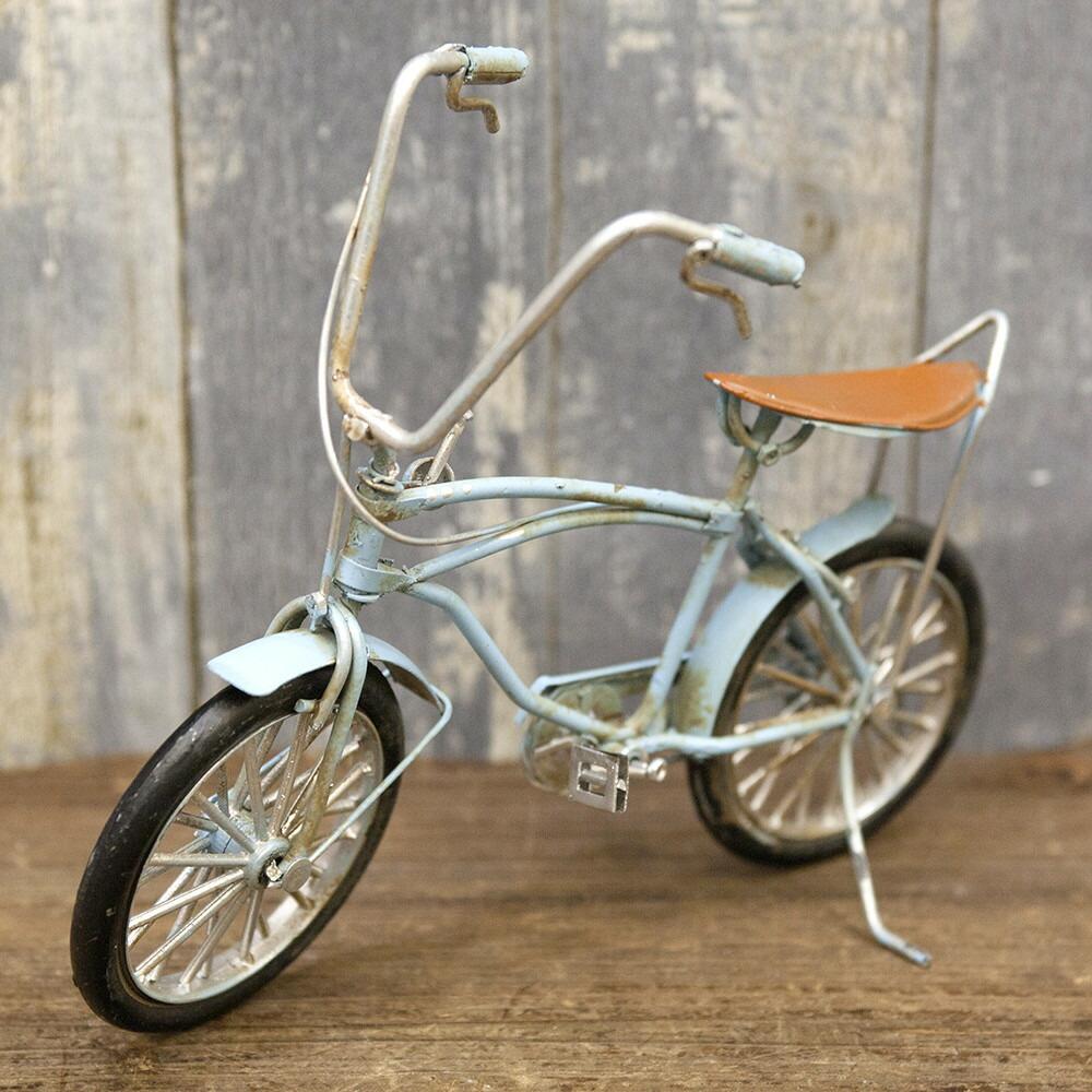 自転車の 自転車 ミニチュア 販売 : ミニチュア 自転車 置物 ブリキ ...