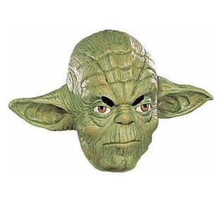 Star Wars Yoda Adult Mask