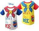 Disney Baby 푸우 페이크 프린트 반 소매 T 셔츠