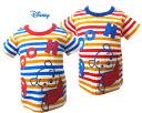 Disney Baby 푸우 다채로운 국경 프린트 반 소매 T 셔츠