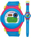 "CASIO ""g-shock"" G-001-2JF blue / pink / yellow"