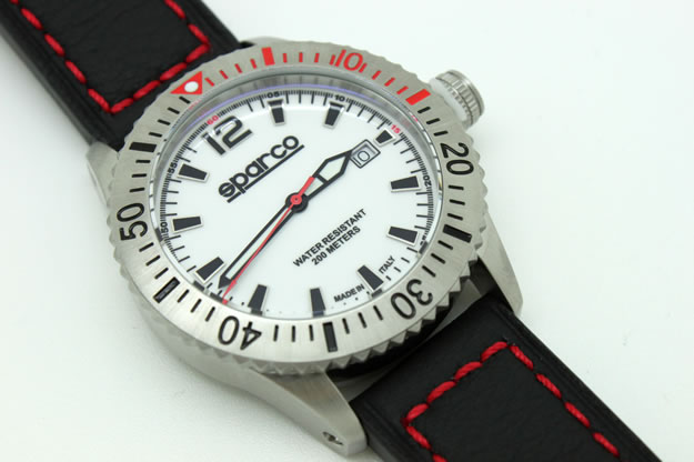 sparco watch carbon