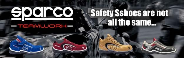 スパルコ セーフティーシューズ 安全靴 チームワーク sparco