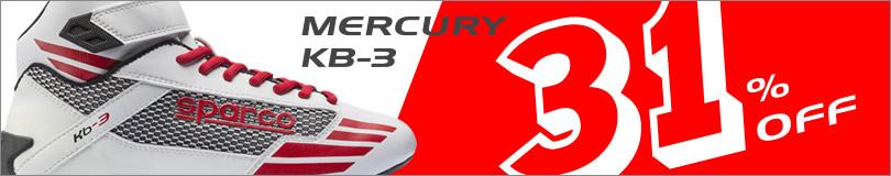 スパルコ KB3 レーシングシューズ マーキュリー mercury