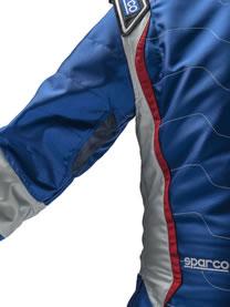 スパルコ レーシングスーツ X-LIGHT KX8 腕 内側
