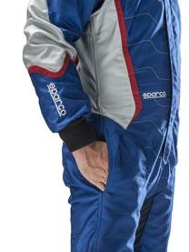 スパルコ レーシングスーツ X-LIGHT KX8 脇