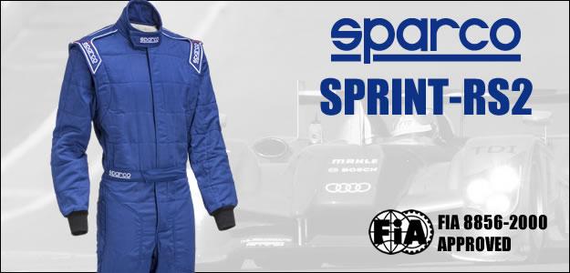 sparco スパルコ レーシングスーツ SPRINT RS2 fia2000規格公認 4輪用スーツ PC用説明