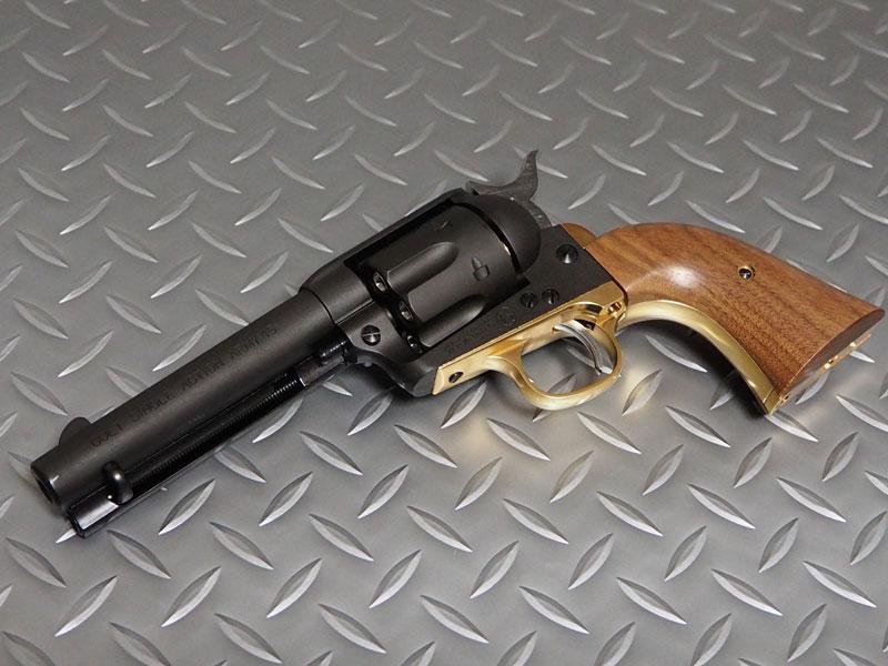 マルシン工業6mmBBガスリボルバーコルトSAA.45ピースメーカーDXヘビーウェイトXカートリッジ仕様